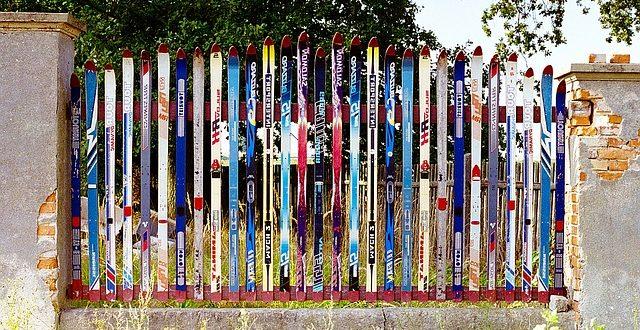 ски ограда